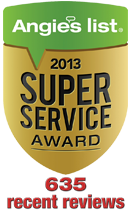 Angie's List Super Service Award Winner 2013